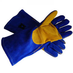 GLOVES WELDING BLUE KEVLAR ESKO