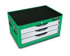 TOOL BOX INTER BOX 3 DRAWER GREEN TOPTUL