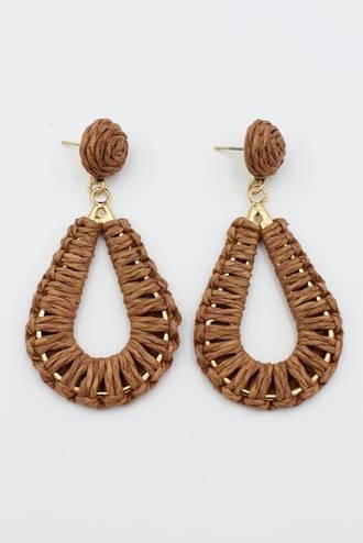 Cocoa Drop Earrings