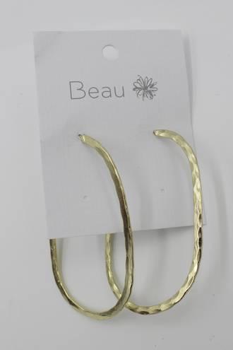 Zara Curve Earrings Gold