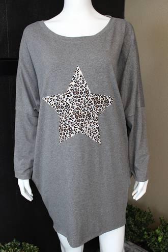 Astra Star Top - Dark Grey