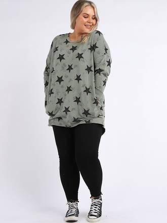 Southern Star Cotton Sweater Khaki