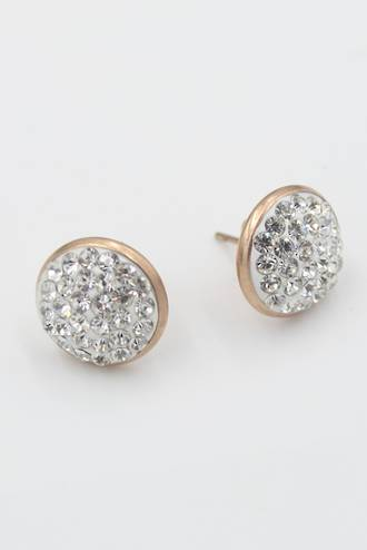 Estee Rose Gold Stainless Steel Earring