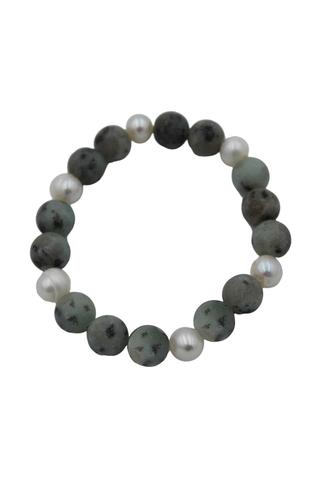 Clay Pearl Bracelet