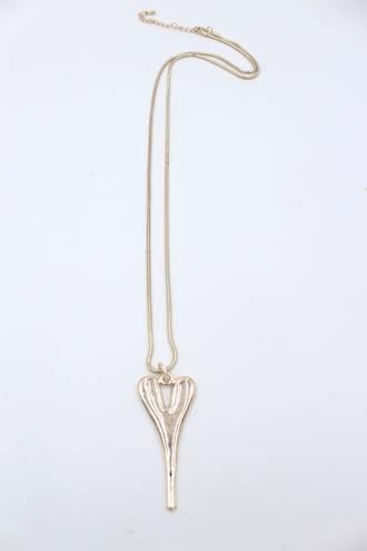 Hilton Heart Necklace