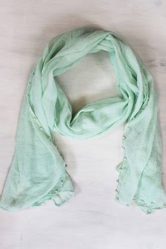 Pearly Mint Scarf