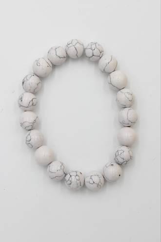 Marble White Bracelet