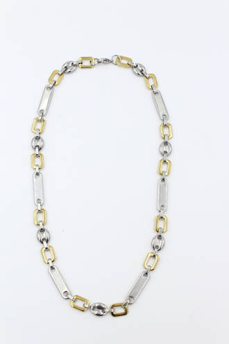 Oslo Stainless Steel Link Necklace