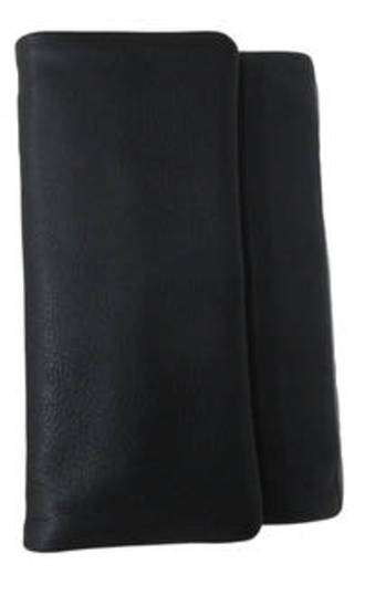 Stockholm Leather Wallet Black