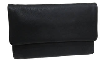 Stockholm Leather Wallet Black
