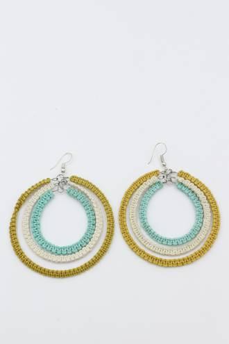 Natural Weave Earrings