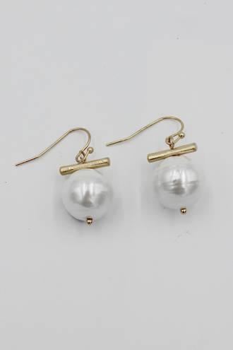 Dash Pearl Earrings