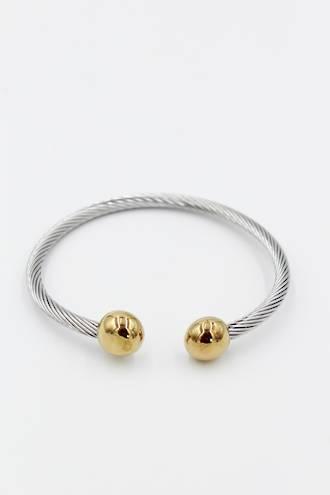 Coil Gold Bangle
