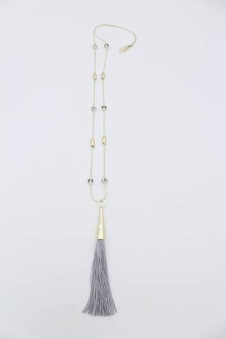 Milford Tassel Necklace