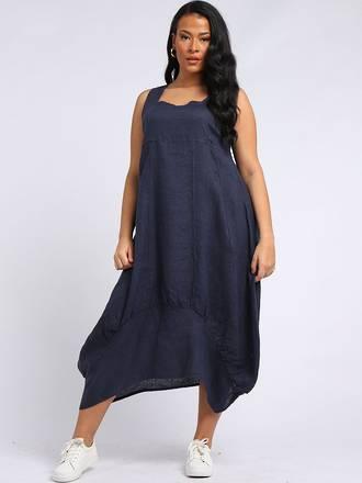 Gabriella Dress Navy