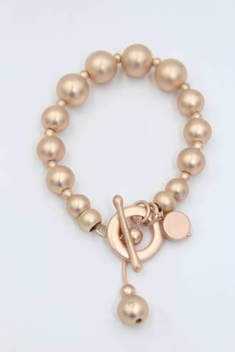 Mystic Rose Gold Fob Bracelets