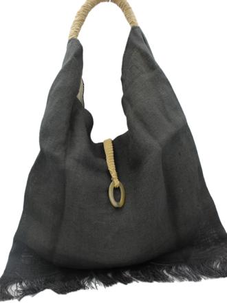 Shoreline Grey Handbag