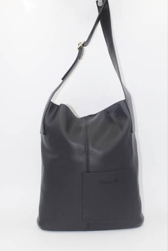 Mason Pocket Handbag Black