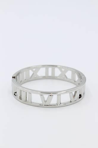Roman Numeral Clasp Bracelet
