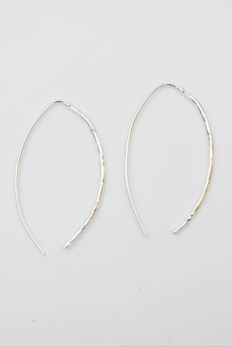 Slimline Silver Earrings