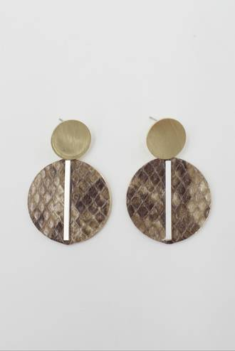 Amazon Earring Bronze