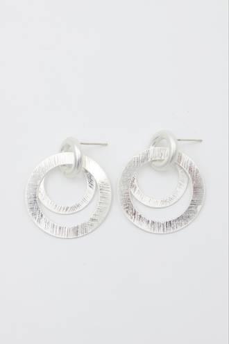 Lana Silver Loop Earrings