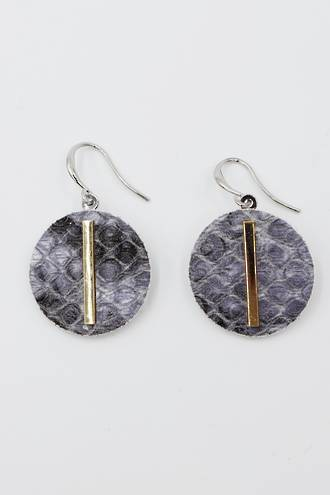 Amazon Earrings Grey