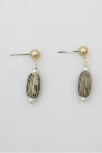 Natural Grain Earrings
