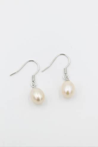 Isabella Pink Fresh Water Pearl Earrings