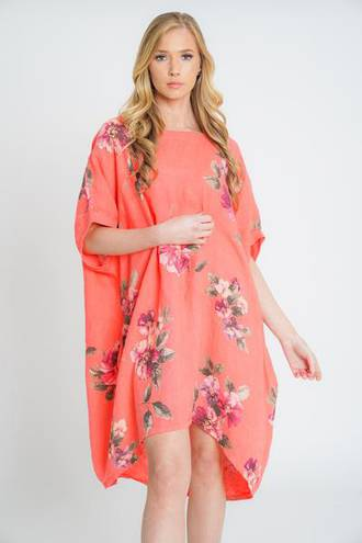 Adeline Coral Top/Dress