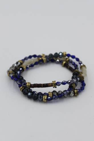 Indian Summer Necklace Blue