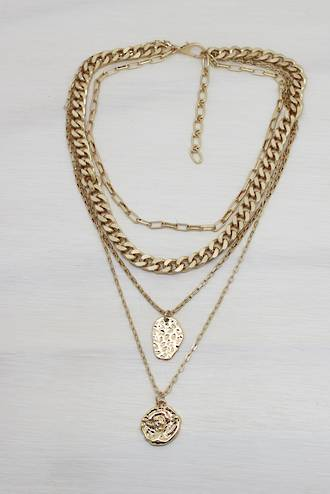 Golden Sand Necklace