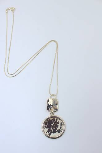 Cowgirl Gold Pendant