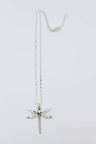 Dazzling Dragonfly Pendant