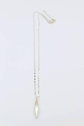 Silver Capsule Pendant