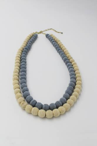 Twin Coil Necklace