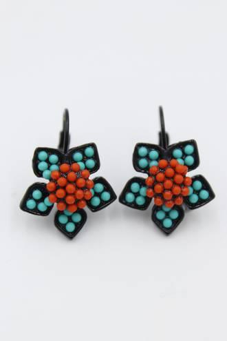Moroccan Star Earrings