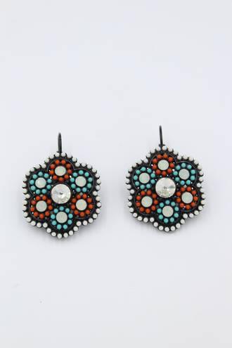 Moroccan Calico Earrings