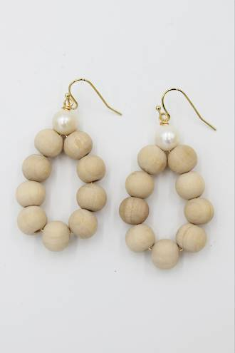 Beach Pearl Earrings