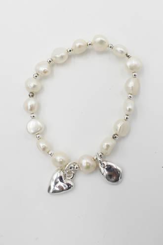 Dove Pearl Bracelet