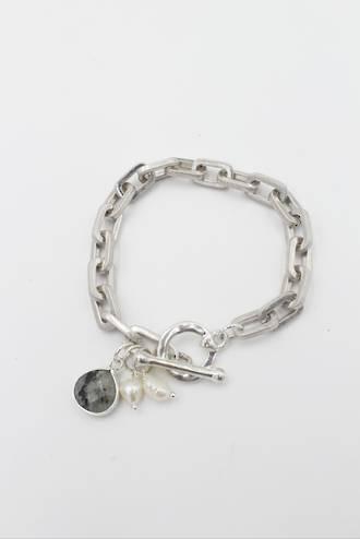 Marlow Silver Link Bracelet