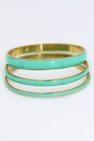 Spearmint Bangle Collection