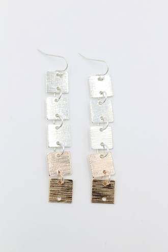 Lila Link Earrings