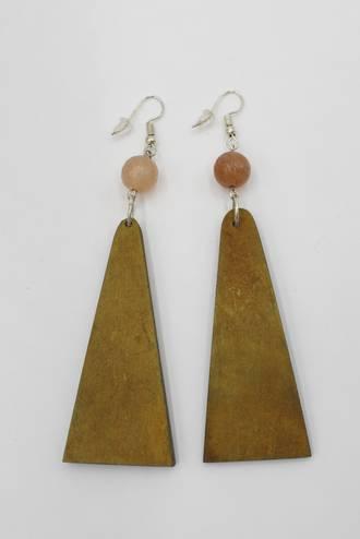 Mustard Mist Earrings