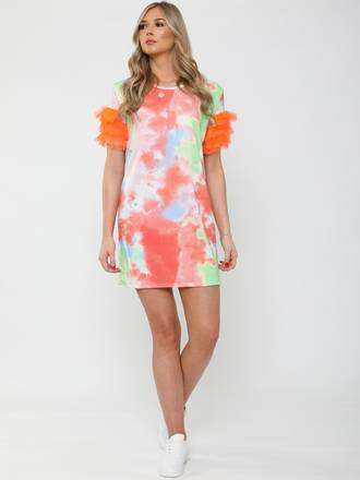 Party Frill Dress - Small