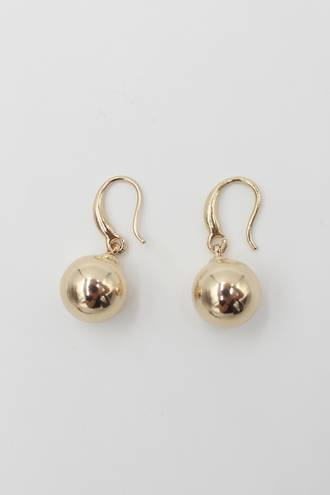 Luna Ball Earrings Gold