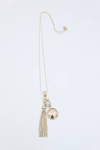 Flirt Gold Charm Necklace