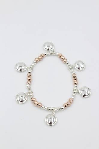 Mixed Moon Bracelet