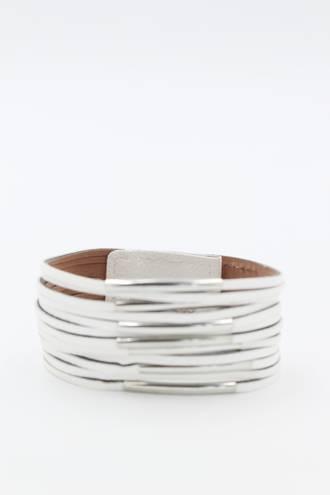Earthchild White Wristband