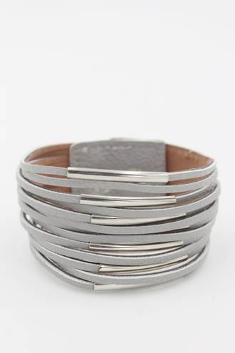 Earthchild Grey Wristband